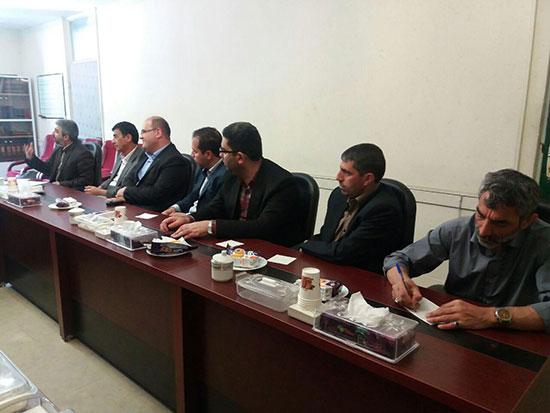معرفی اعضای جدید شورای پایگاه شهید عبدی شهرداری اردبیل